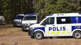 LSTV:n uutisklippi Loviisan Vanhakylän poliisioperaatiosta 10.-11.5.2017