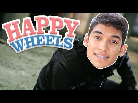 FASE IMPOSSÍVEL !!! - HAPPY WHEELS