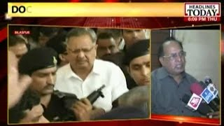 #BilaspurHorror: Chhattisgarh CM Raman Singh visits Bilaspur