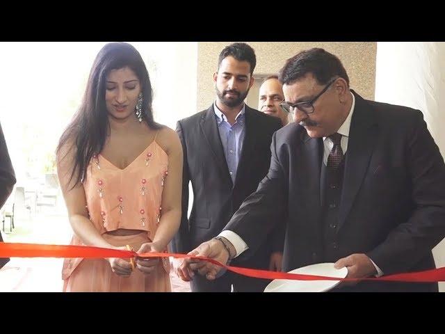 Total Dhamaal Actress Niharica Raizada At The Ren Hotel's Food Festival In Nashik