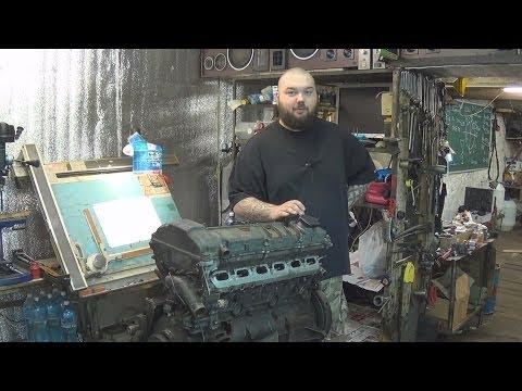 Фото к видео: Теория ДВС - Двигатель BMW M50B25 (дефектовка и обзор конструкции)