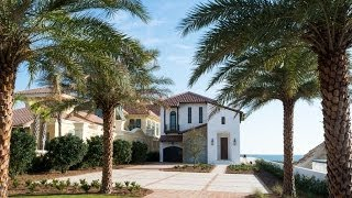 Completed Gulf Front Luxury Home for Sale in Paradise by the Sea in Seacrest, Florida