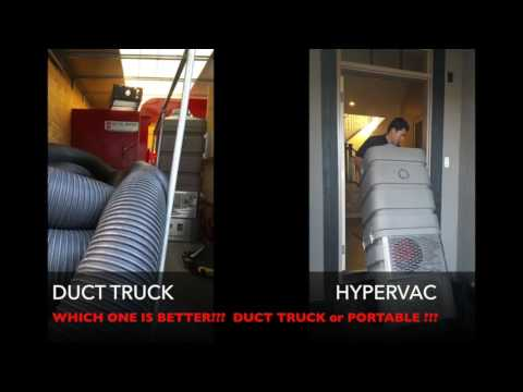 Air Duct Cleaning : TRUCK Vs PORTABLE