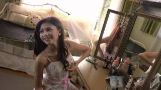 Zendaya behind the scenes