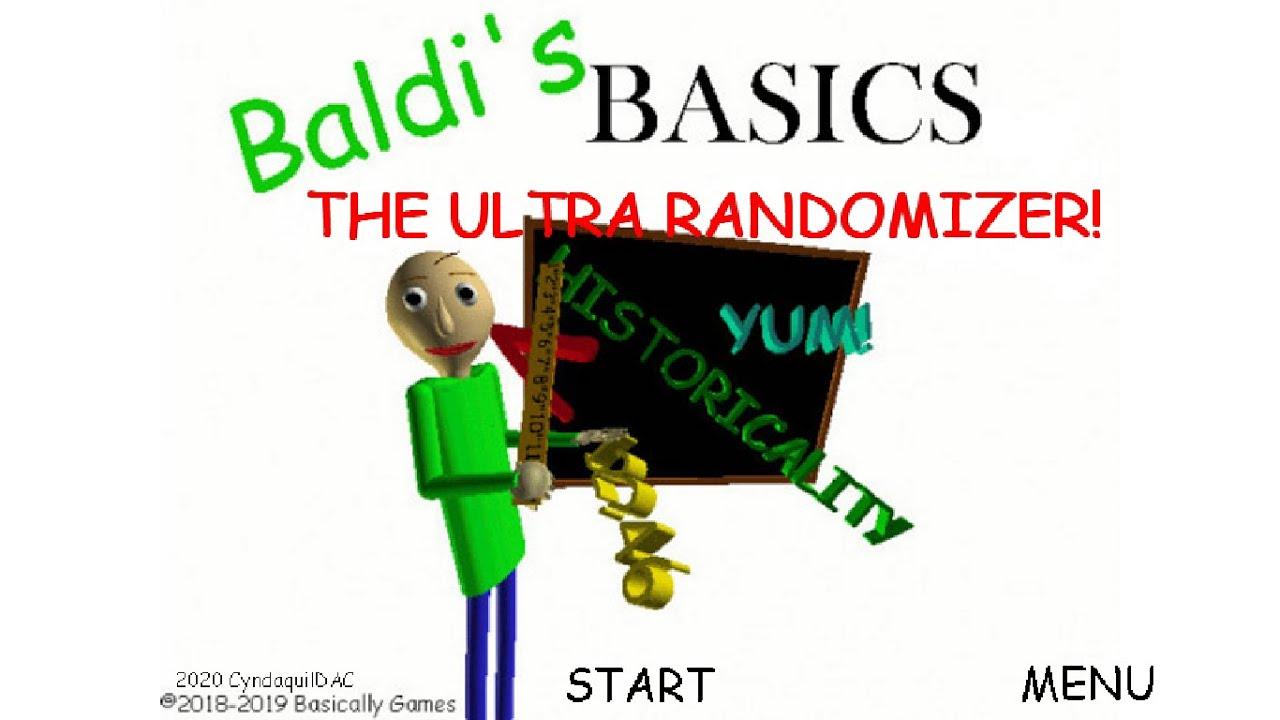 Baldi's Basics The Ultra Randomiser