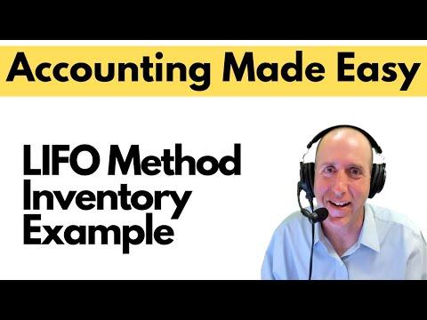 FA 33 - Inventory - LIFO Method