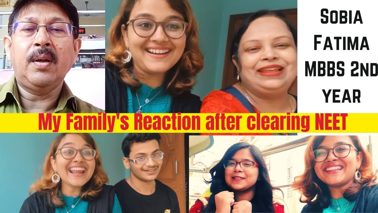 My Family's Reaction after I cracked 'NEET' 🤩| Sobia Fatima, MBBS 2nd year Student|NMCH,Patna #vlog
