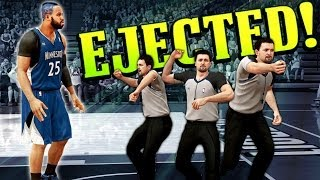 Posterizer Signature Skill Gets Me Ejected! Dunk Too Nasty? - NBA 2K14 MyCareer #12