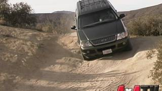 2002 Ford Explorer 4x4 Test - 4x4TV Test Videos