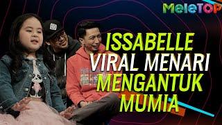 Adik Isabelle viral menari lagu Mengantuk Mumia - Didi & Friends | MeleTOP | Nabil & Sherry