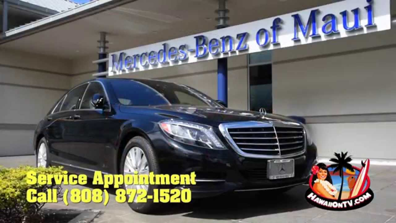 Mercedes-Benz of Maui - Parts & Service - YouTube