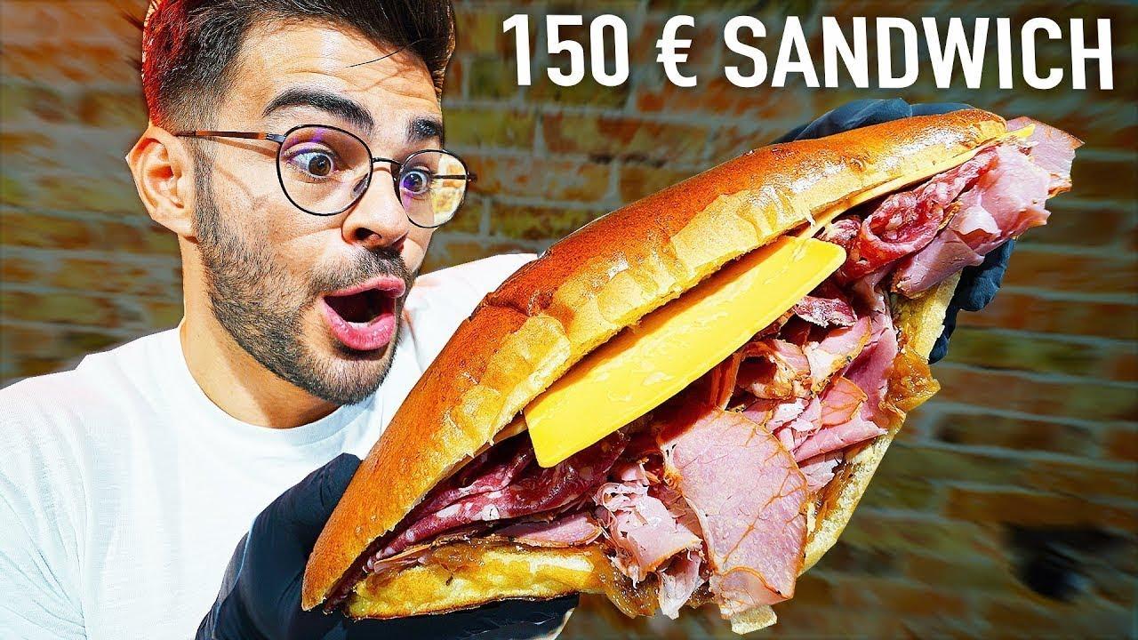 Download JE MANGE SANDWICH À 150€ VS UN SANDWICH À 2€