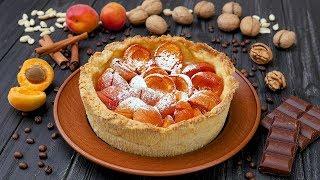 Пирог с абрикосами на песочном тесте - Рецепты от Со Вкусом