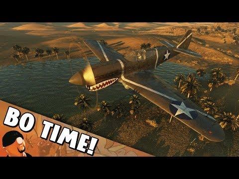 War Thunder - P-40F-10 Warhawk