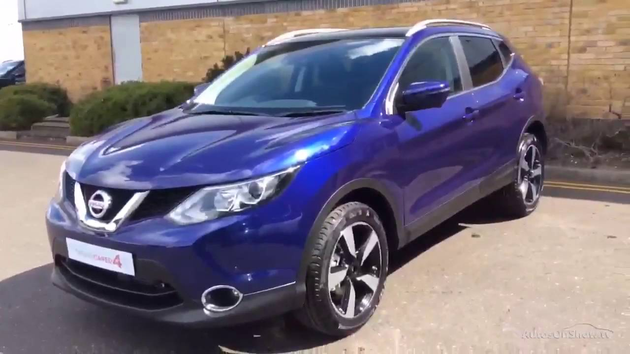 nissan qashqai n connecta dig t xtronic blue 2016 youtube. Black Bedroom Furniture Sets. Home Design Ideas