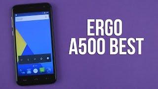 Розпакування Ergo A500 Best Dual Sim Dark Grey