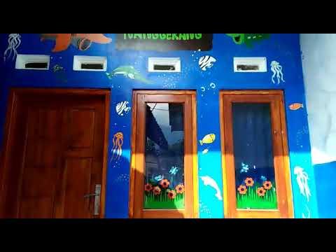 Contoh Lukisan Dinding Untuk Sekolah Tk Dan Paud Youtube
