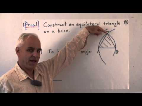 FamousMathProbs 12: Euclid's construction problems I