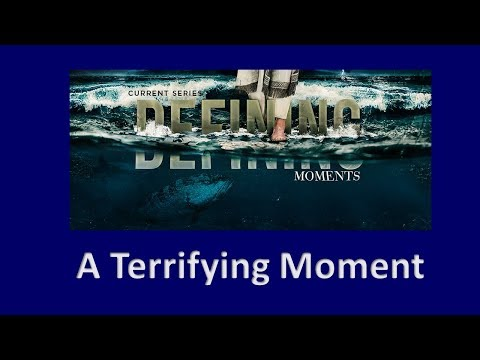 A Terrifying Moment - Rev. Andra D. Sparks - Nov 26, 2017