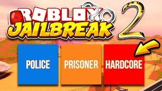 Jailbreak IF I DIE, I DELETE MY ACCOUNT.. HARDCORE GAME MODE IMPOSSIBLE CHALLENGE | Roblox Jailbreak