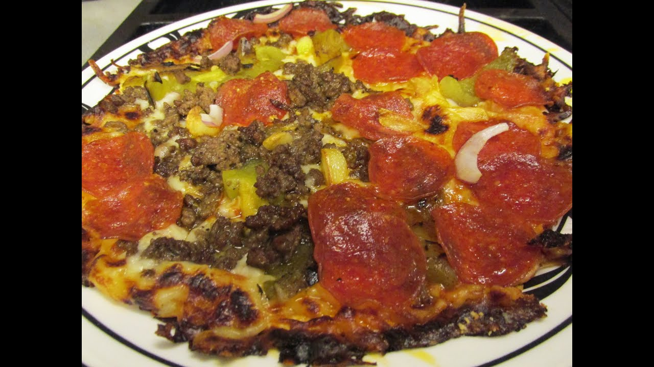 Bar Style Pizza - Ultra Fast & Crispy Tortilla Pizzas - YouTube