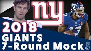 2018 New York Giants 7-Round Mock Draft