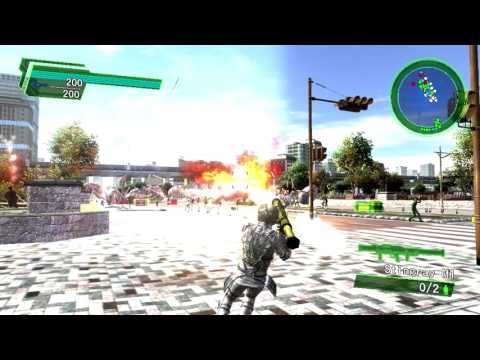 EARTH DEFENSE FORCE 4.1 The Shadow of New Despair Test Gameplay Intel HD 4000