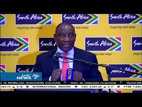 ANC committed to renewing SA's economy: Ramaphosa