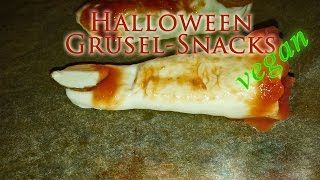 HALLOWEEN-SNACKS VEGAN DIY [Rezepte Halloween 2014 vegan] Thumbnail