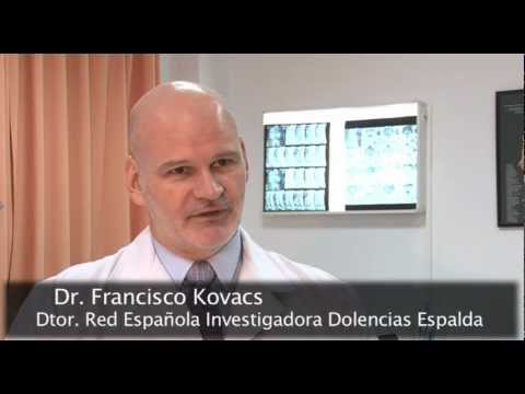 La Fundación Kovacs contra el dolor lumbar
