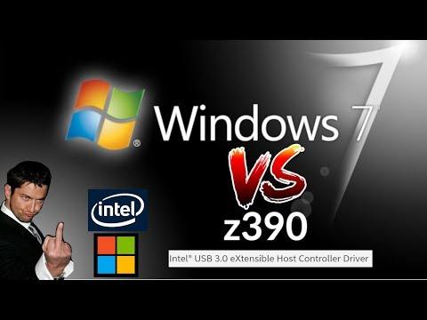 Windows 7 Drivers For Z390 & ISO Install Guide
