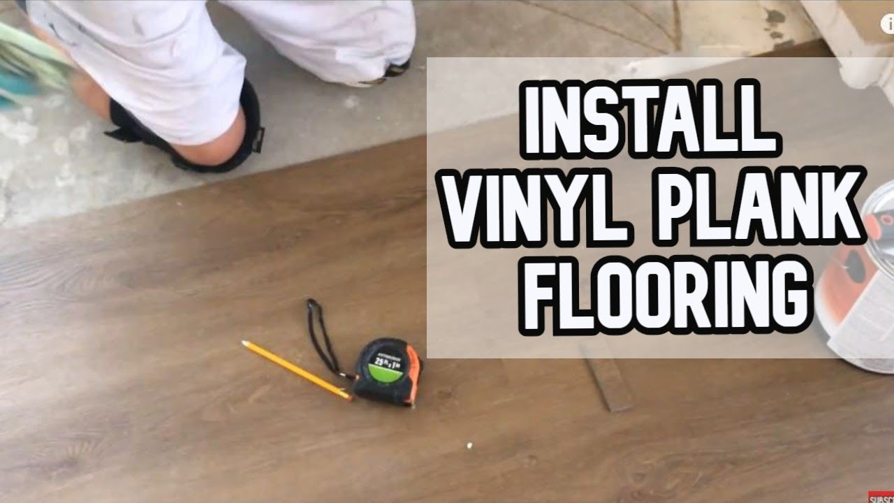 How To Install Floating Vinyl Plank Flooring Diy Video