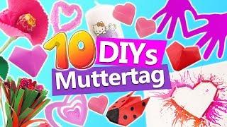 10 DIYs MUTTERTAG | Muttertagsgeschenk selber basteln | Geschenketipps für Mama | DIY Kids Club