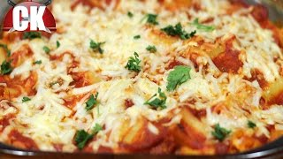 Baked Ziti Recipe - Chef Kendra's Easy Cooking!