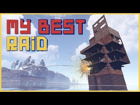 DEEP WATER BASE! HARD ONLINE - Rust Raids