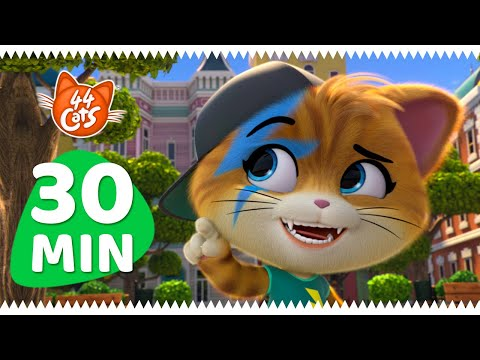 Download 44 Cats | 30 MINUTES with Lampo!