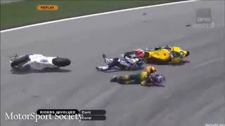 Biggest and SHOCKING Motogp Crashes of All Time  [+2018]