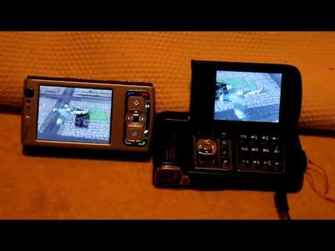 Nokia N95 vs N93 - Defend London