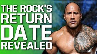 The Rock WWE Return Date Revealed | More Details On CM Punk AEW Talks