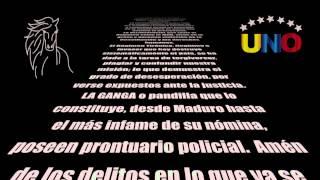 #UNO UN NUEVO ORDENLA VOZ OFICIAL DE LA LIBERTAD