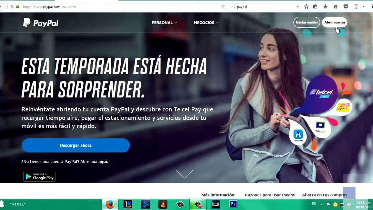 Paypal En Espanol Crear Cuenta