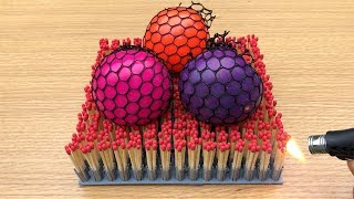 EXPERIMENT: Anti Stress Balls vs 1000 Matches