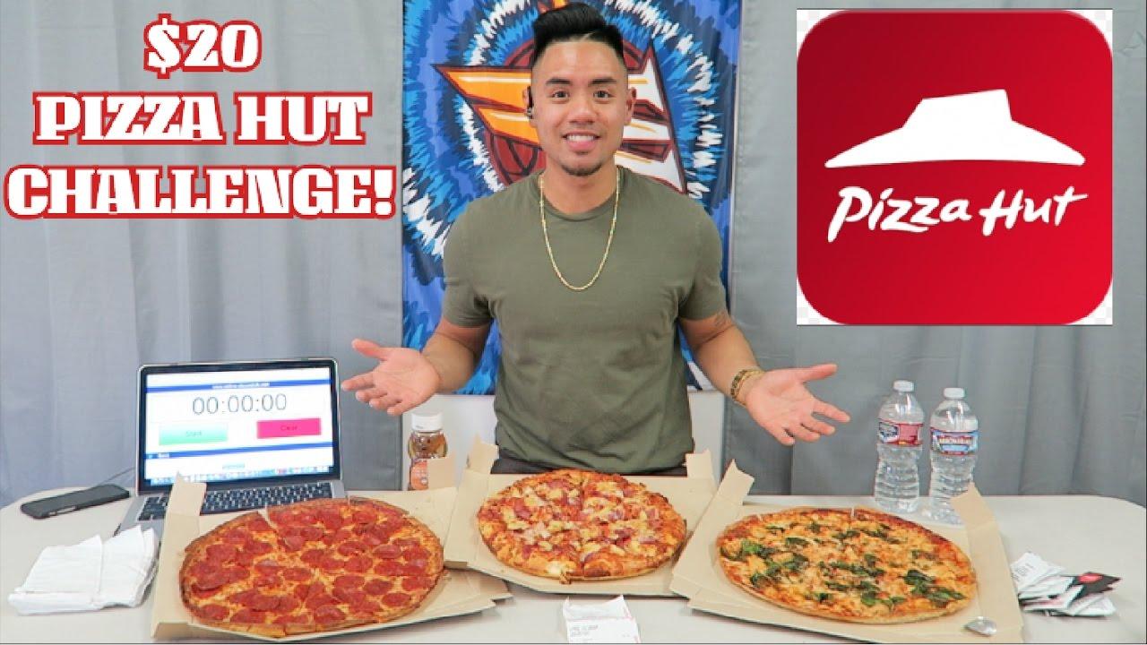 20 Pizza Hut Challenge 3 Medium Pizzas Randy Santel