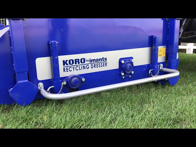 KORO RECYCLING DRESSER by Sustainable Machinery