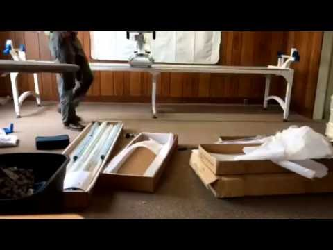 Tim lapse of the Tin Lizzie 12\' frame assembly in 3 hours. - YouTube