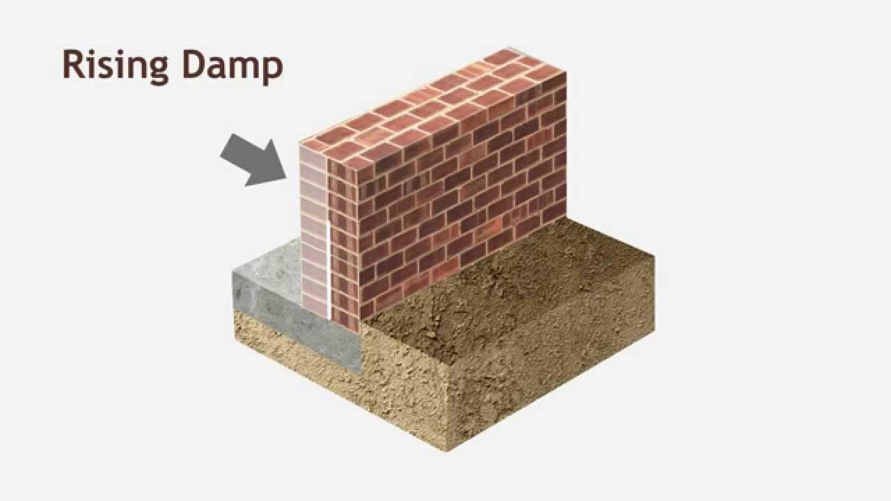 Rising Damp - Liquid Waterproofing