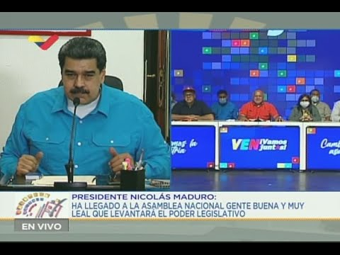 Diosdado Cabello y Nicolás Maduro: Reacciones tras primeros resultados oficiales de elecciones 6-D