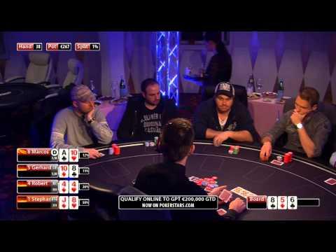 CASH KINGS E34 1/2 - DE - NLH 2/5 ante 5 - Live cash game poker show