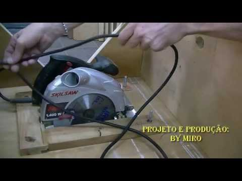 Mesa caseira para serra circular manual skil saw show do miro youtube - Mesa para circular ...