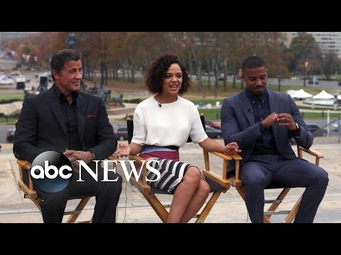 On Location With the Stars of 'Creed'